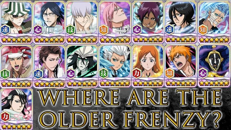 bbs Frenzy Characters
