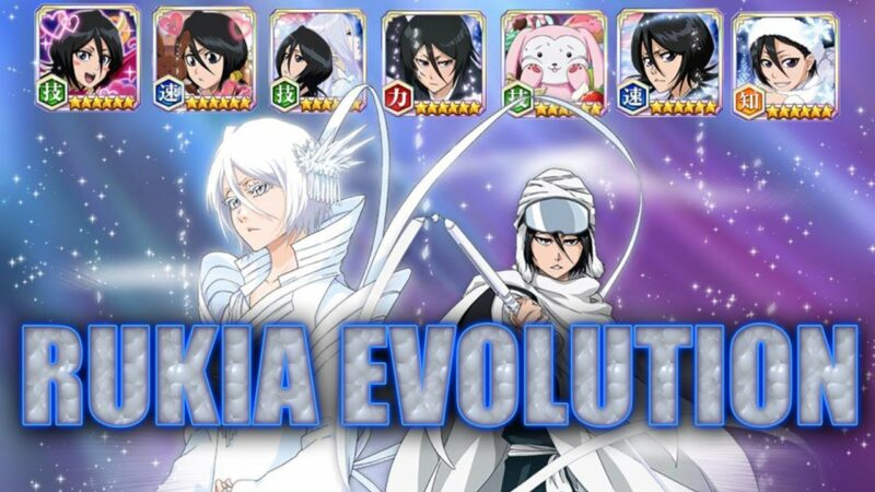 bleach brave souls how to evolve characters
