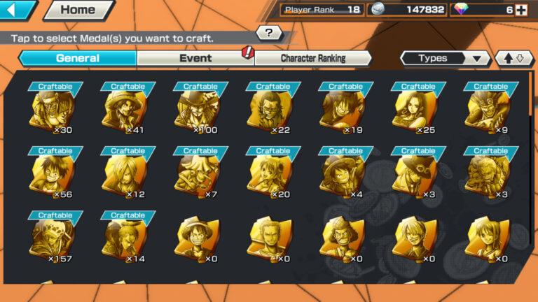 op bounty rush best medals