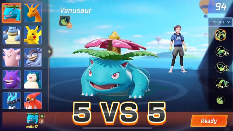 pokemon unite switch